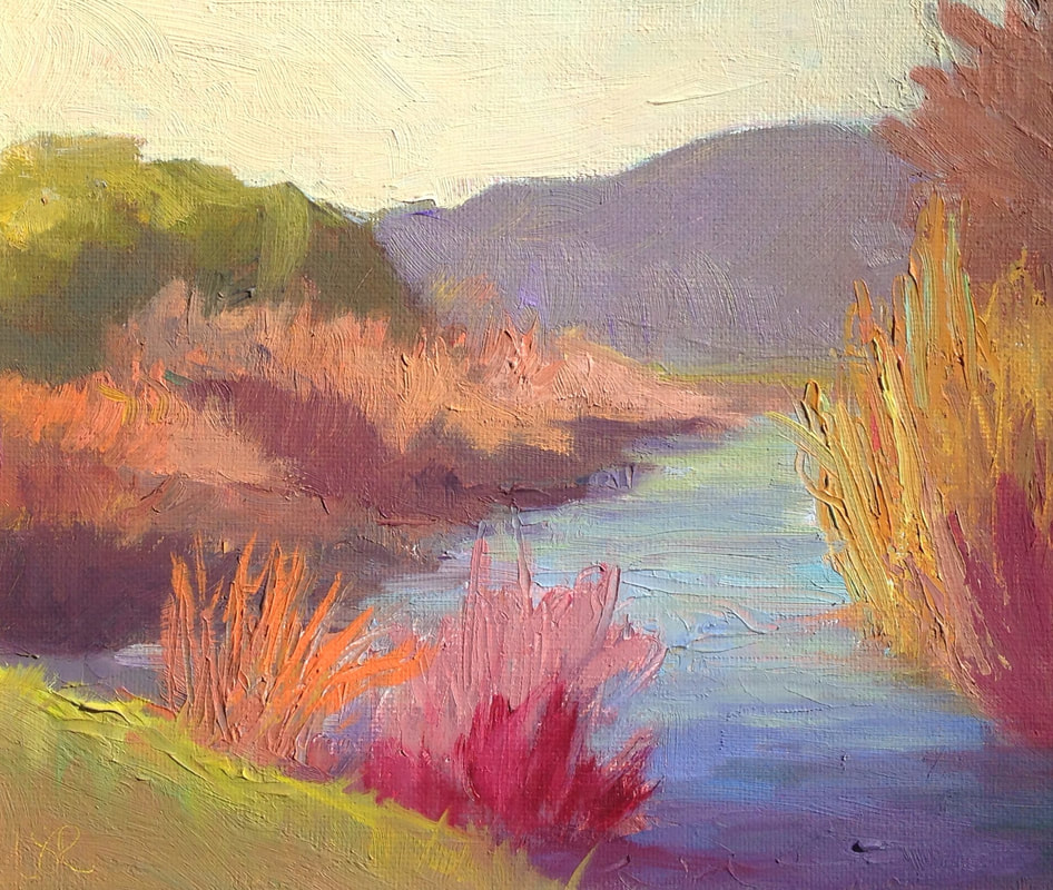 Colorful Creek by Linda Rosso