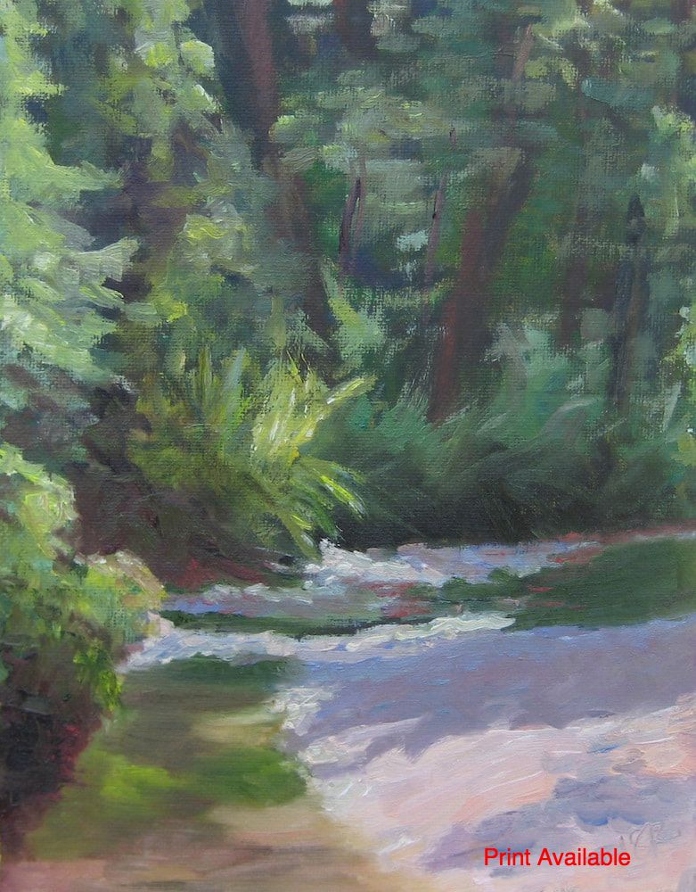 Old Mill Creek by Linda Rosso