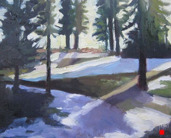 Tahoe Trees by Linda Rosso