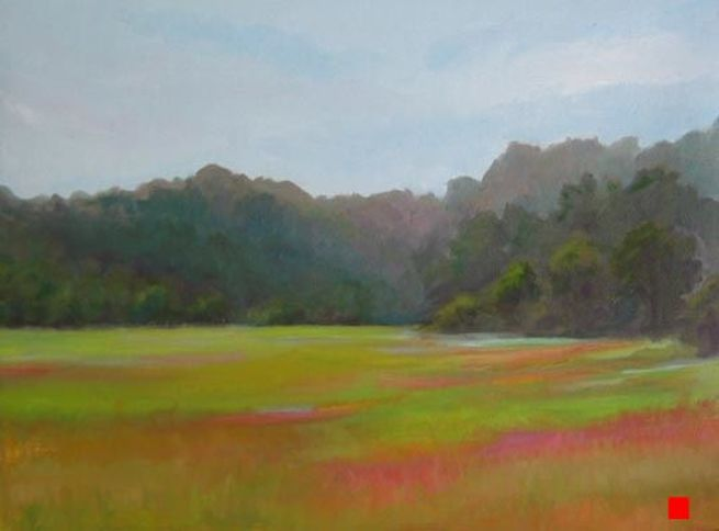 Mill Valley Marsh by Linda Rosso