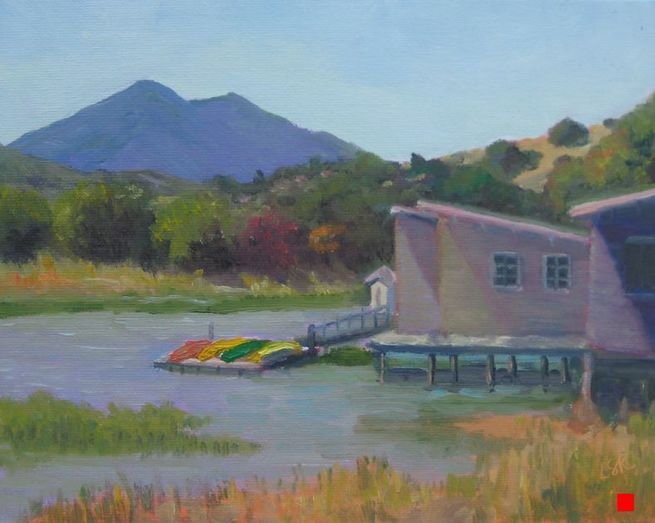 Cabins and Kayaks by Linda Rosso