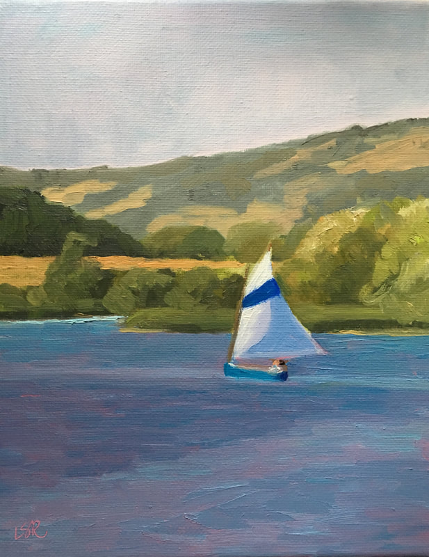 Summer Sail by Linda Rosso