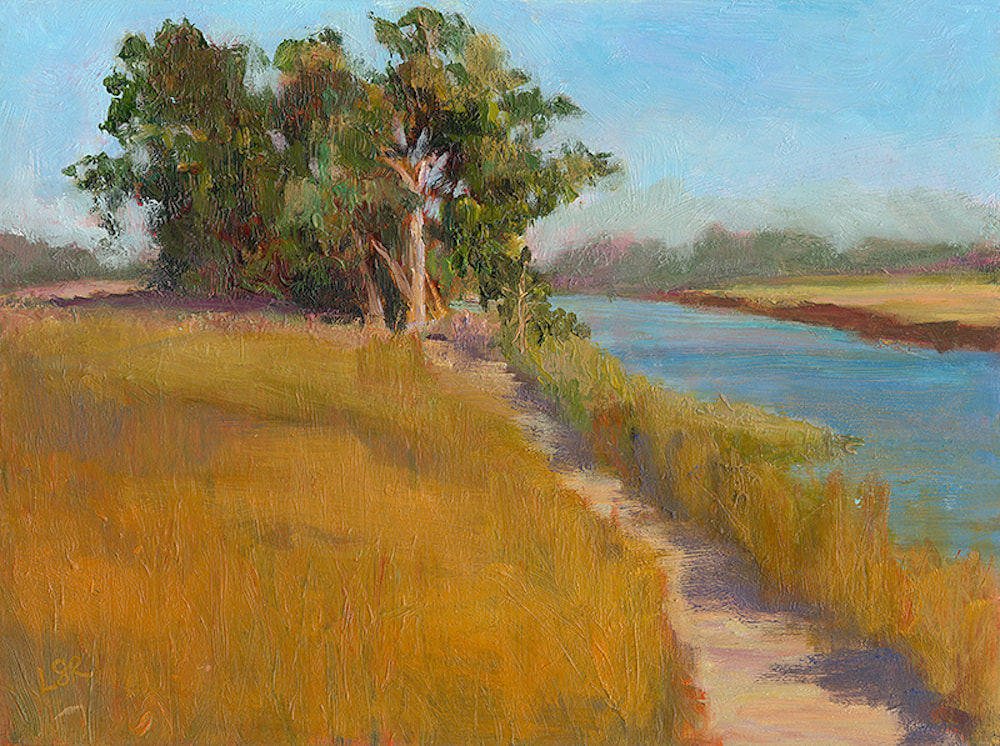 Along the Laguna by Linda Rosso