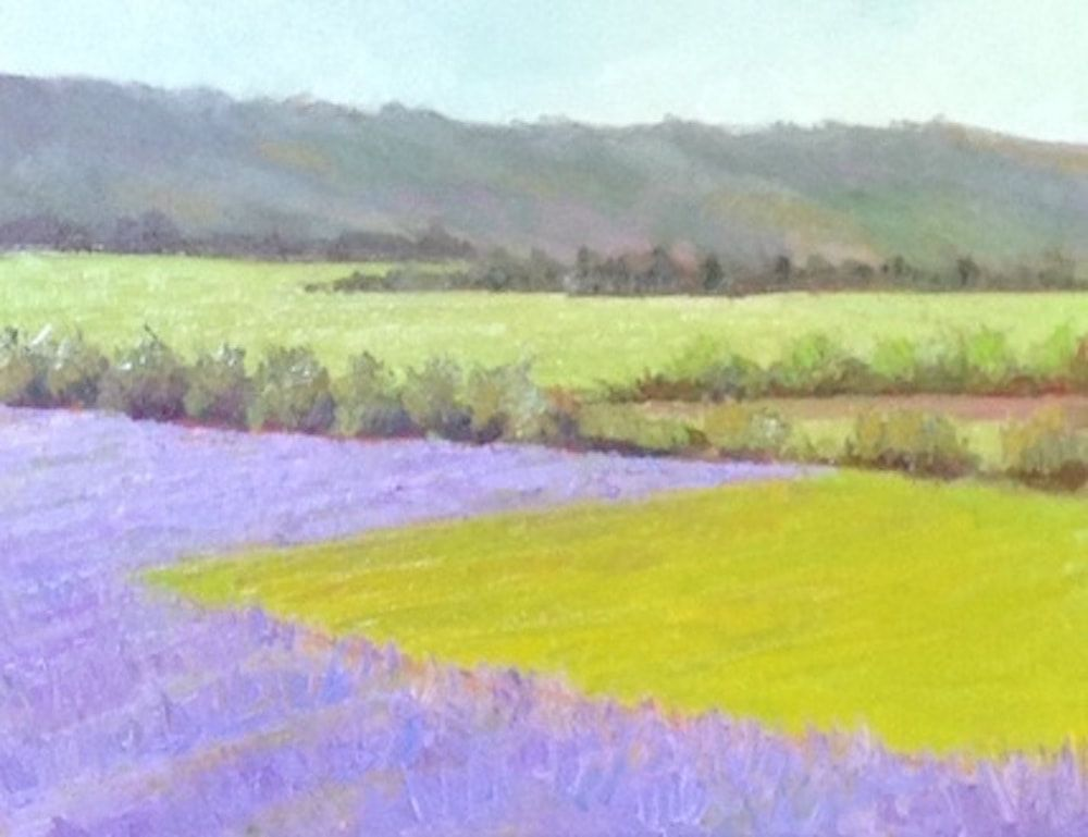 Lavender Valley by Linda Rosso